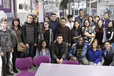 Arab and Jewish Israeli Students Visit Pikesville High School