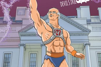Bernie Sanders Gets the Buff Comic Book Hero Treatment