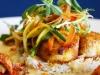 Cajun Style Scallops Over Rice