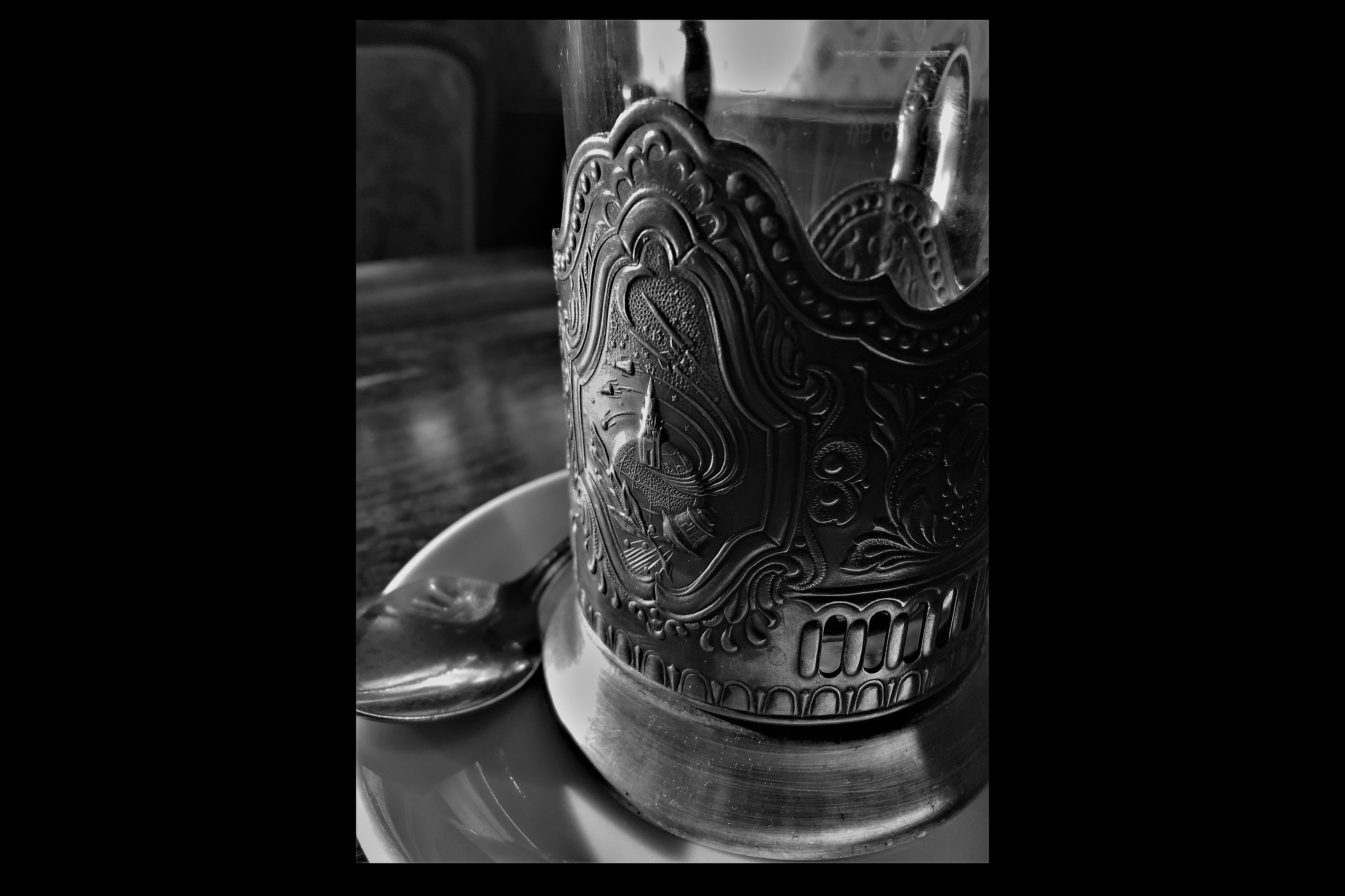 Tea glass detail at Masel Topf
