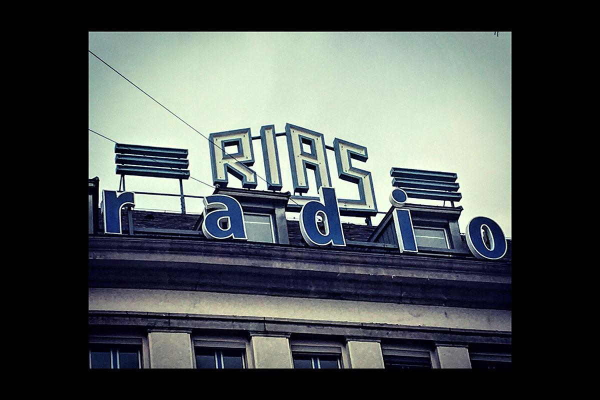 RIAS - Radio In the American Sector - now Deutschlandfunk Public Radio