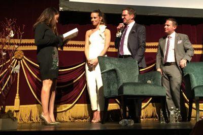 Olympian Aly Raisman Speaks at Baltimore Child Abuse Center Gala