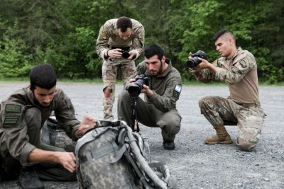 Israeli Soldiers Participate in Fort Meade Competition