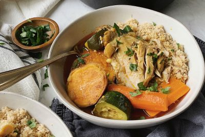 Moroccan Couscous and Chicken