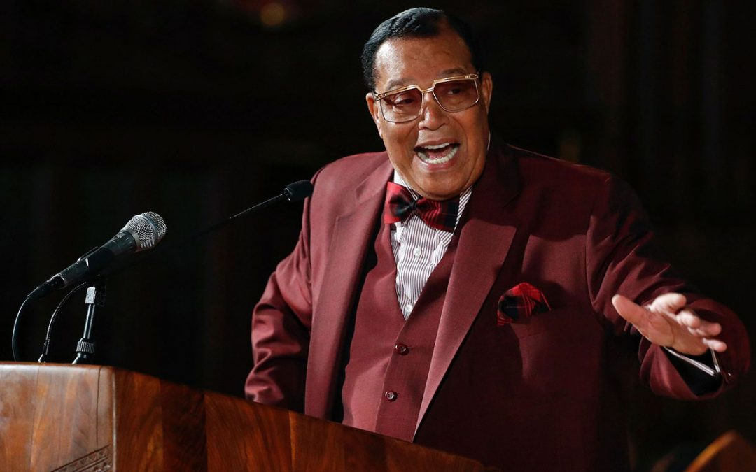 Farrakhan Speaks of 'Satanic Jews' in Talk at Catholic Church