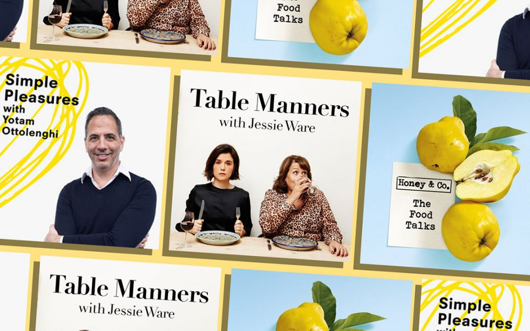 Love Jewish Food? Here's 3 British Podcasts for You