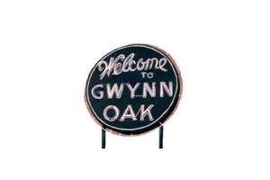Gwynn Oak Park Sign