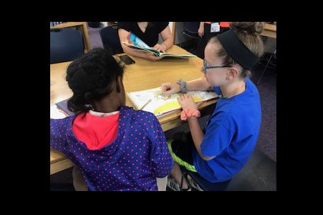 2019 KSDS Reading Buddies: A Successful Experience