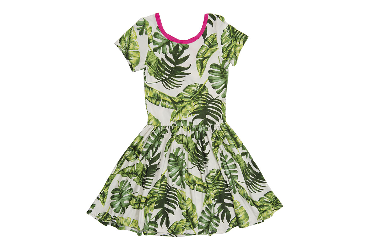 Short Sleeve Be Happy dress