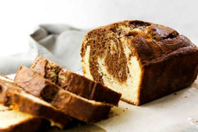 Classic Marble Pound Cake