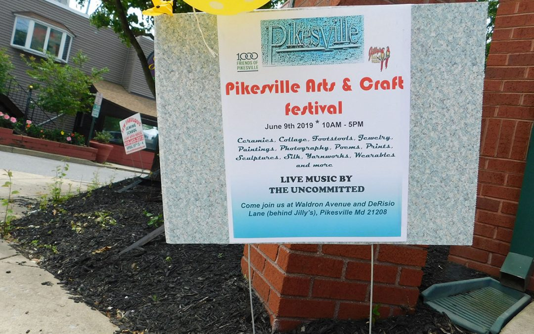 Scenes from the Pikesville Arts & Craft Festival