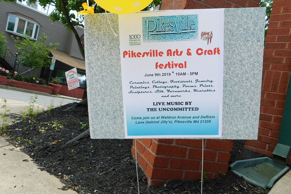 Pikesville Arts & Crafts Festival