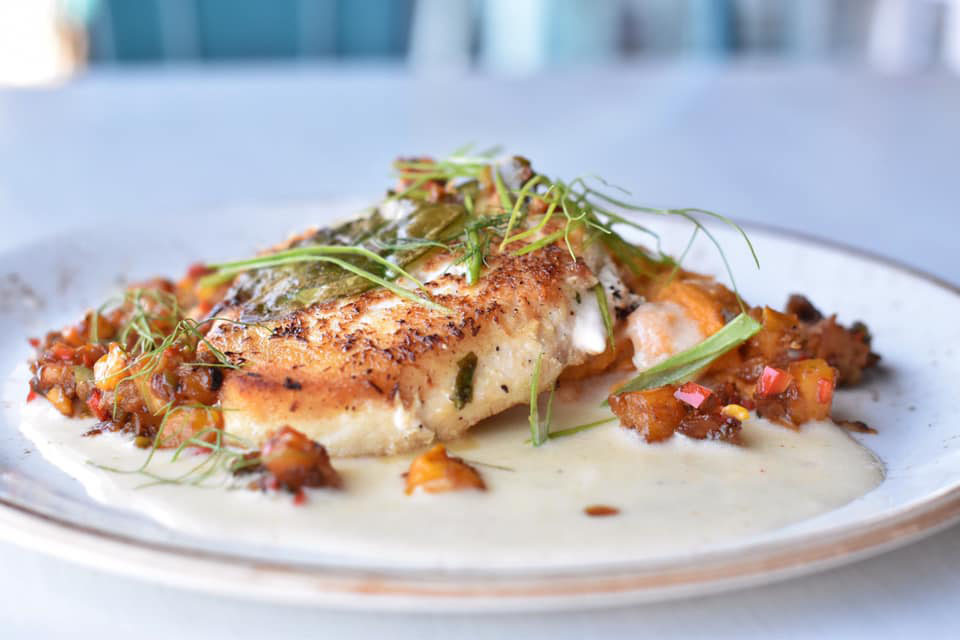 Restaurant News: 98 Cannon Riverfront Grille Favors a Chesapeake Bay Flavor