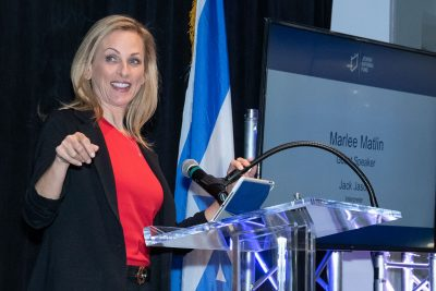 Actress Marlee Matlin Speaks at JNF Gathering