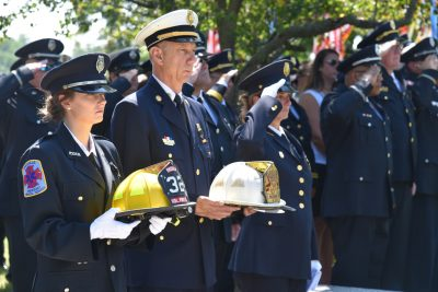 A Tip of the Helmet to Battalion Chief Lawrence H. Goldberg