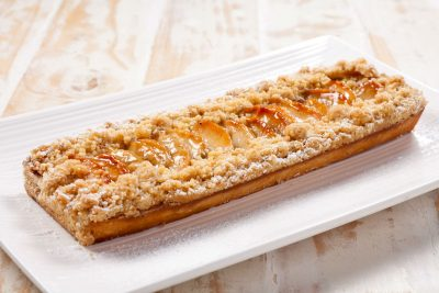Apple Streusel Honey Cake