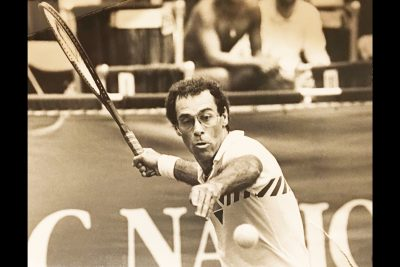 Tennis Star Steve Krulevitz to be Inducted into Md. State Athletic Hall of Fame