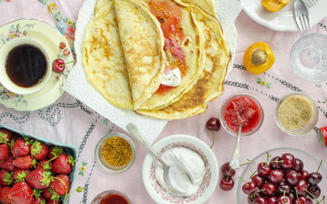 Traditional Hungarian Crepes