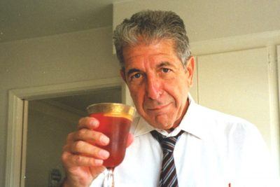 Leonard Cohen Invented This Cocktail