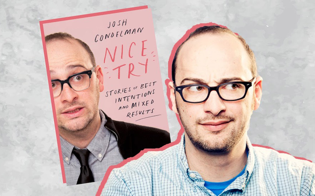 Josh Gondelman may be the Nicest Guy in Comedy Today