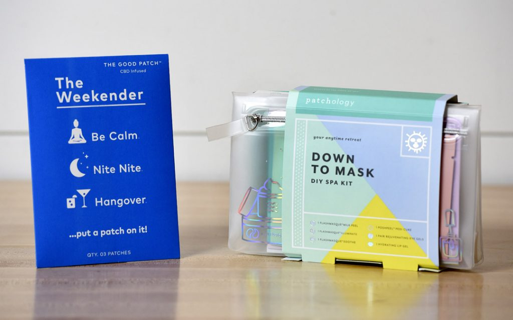Down To Mask: DIY Spa Kit and The Weekender from Becket Hitch. (Photo by Steve Ruark)