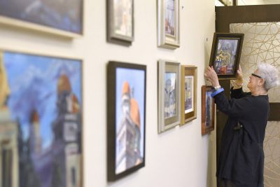 Baltimore Hebrew Congregation Hosts Exhibit Featuring Artworks of the City's Historic Shuls