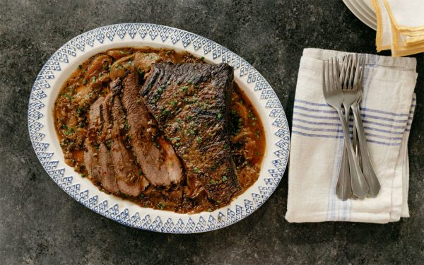 Molly Yeh's Apple Cider Brisket (Photo: Food Network)