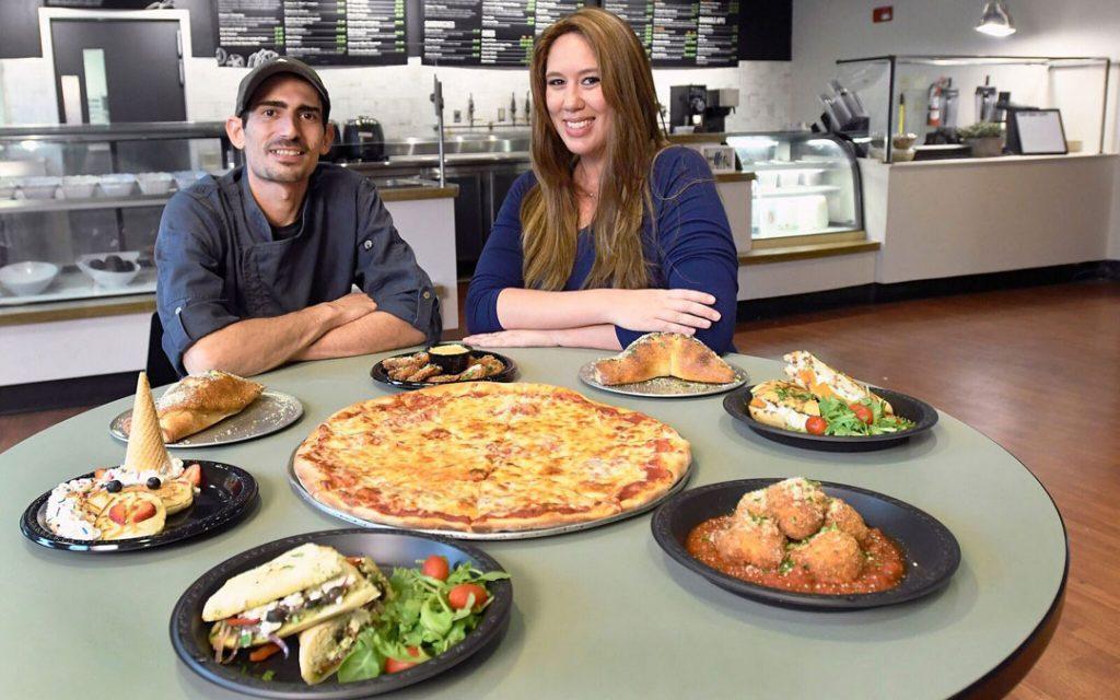 Dan and Shira Neuman are the proprietors of Chef Dan's Café
