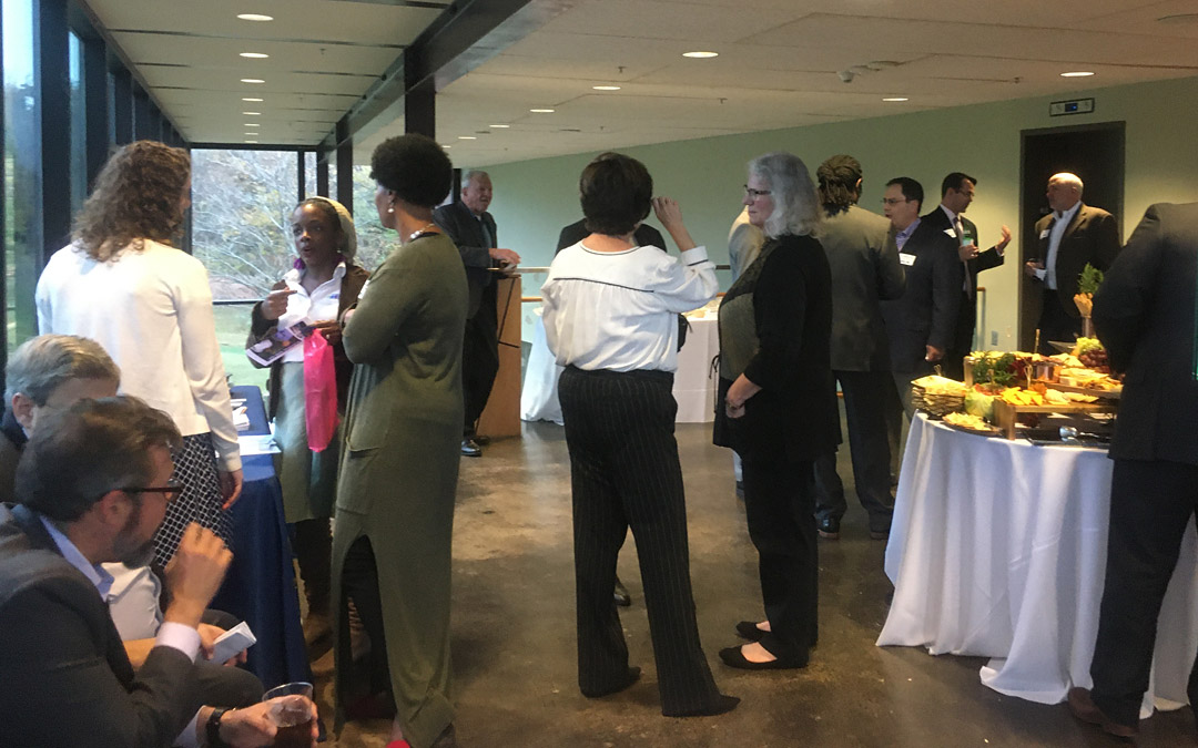 """A great crowd was on hand Oct. 29 for Jmore's """"Innovation In Healthcare"""" event at Cylburn Arboretum, celebrating Baltimore's health care innovators."""