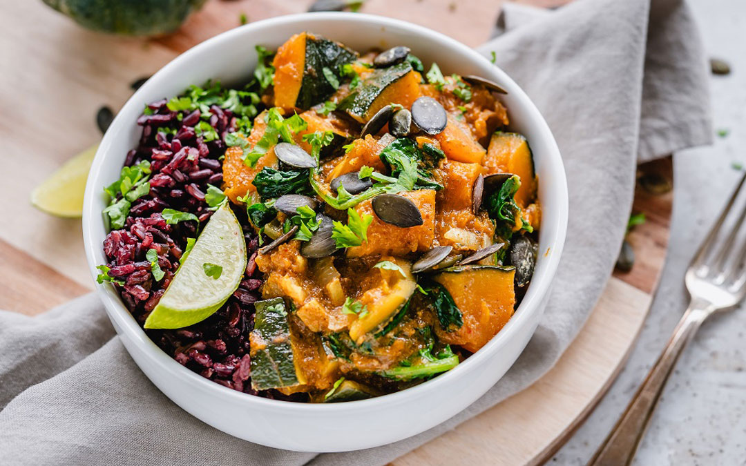 Kabocha Pumpkin Curry (Photo courtesy of Fresh n' Lean)