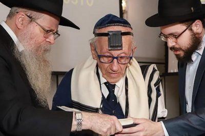 Brazilian-Born Holocaust Survivor Celebrates Bar Mitzvah at 91