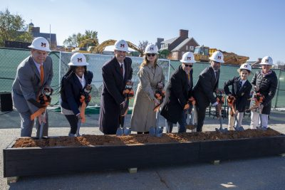 McDonogh Breaks Ground on Middle School Building