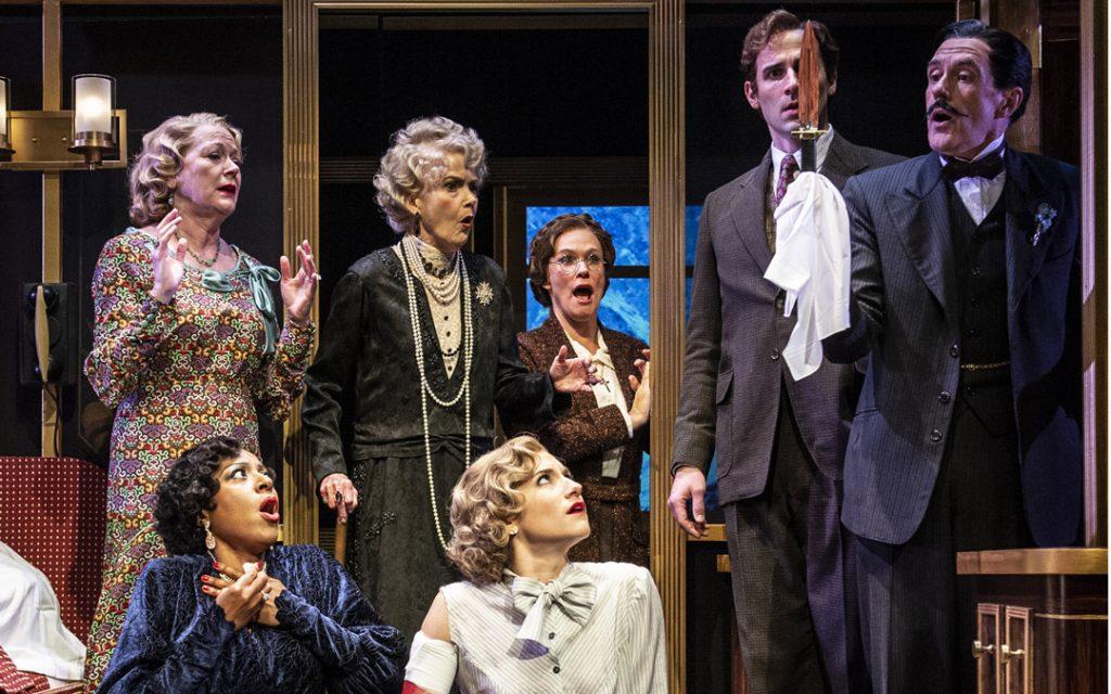 """Murder on the Orient Express"" runs through Jan. 5, 2020 at Everyman Theatre. (Photo courtesy of Everyman Theatre)"
