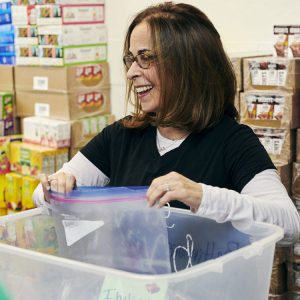 """Lynne B. Kahn, founder and executive director of the Baltimore Hunger Project: """"I grew up with a strong Jewish background and giving back was something my parents always modeled, so it's what I know."""" (Photo by Kate Grewal)"""
