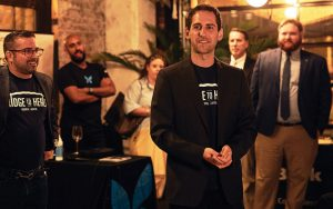 Dr. William Cherniak at the Bridge to Health USA launch event last spring. (Photo by Will Martinez)