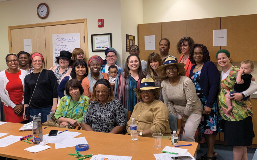 Black and Orthodox Women Connect through Community Conversations Cohort