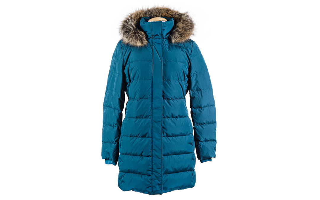 Stand out from the crowd with this full-length down coat that will keep you cozy no matter how low the temperature dips. Women's Winter Long Down Coat with Faux Fur Hood: $199.95 at Lands End