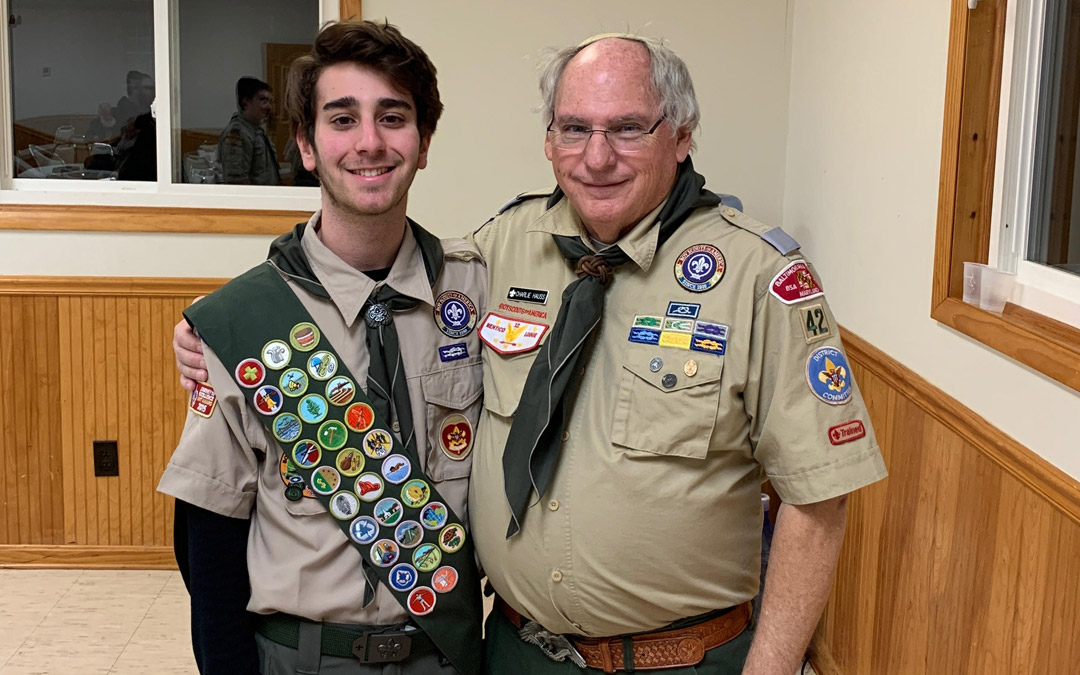 Pikesville Boy Scout Earns Prestigious Eagle Scout Rank