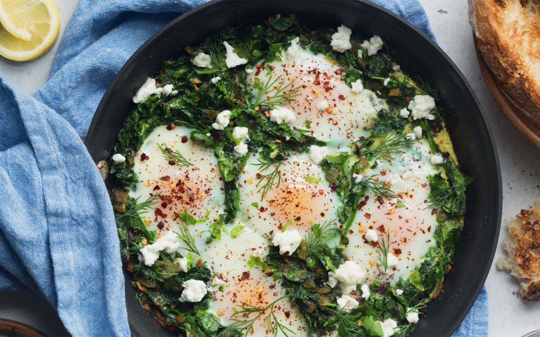 Green Shakshuka with Feta: Even Better than the Original?