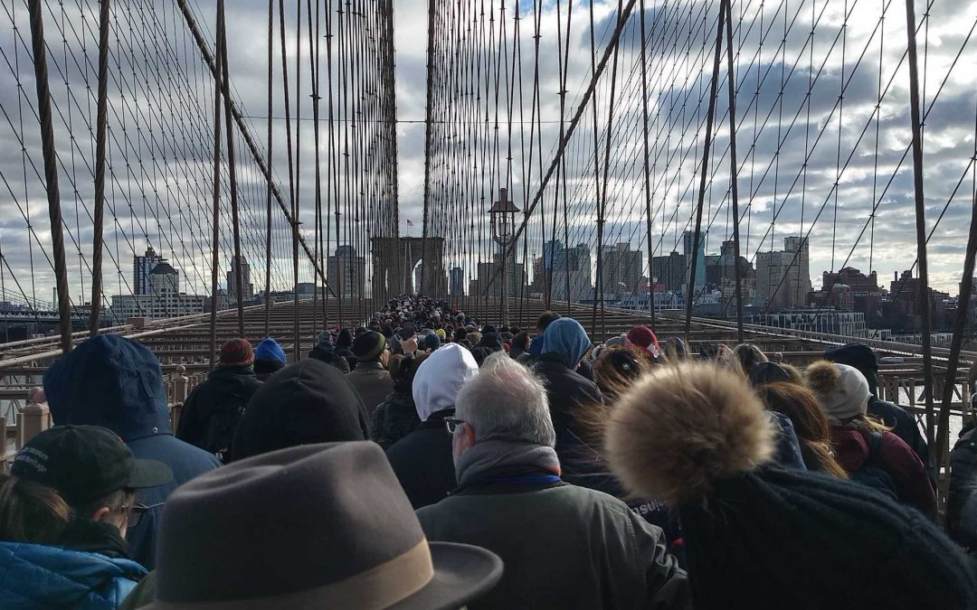 An Estimated 25,000 March in New York to Protest Anti-Semitism