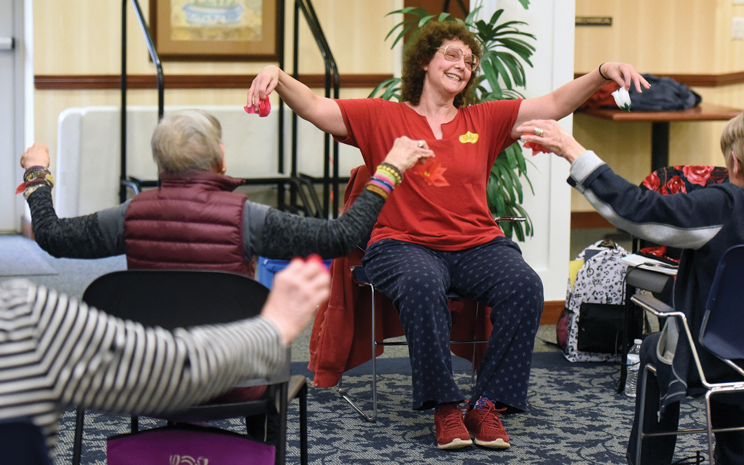 Weinberg Village Ballet Class Helps Residents Soar