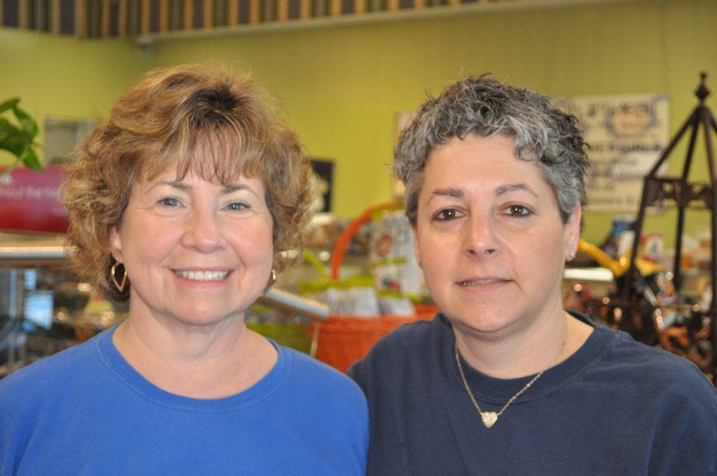 Barbara Collurafici and Lisa Honick
