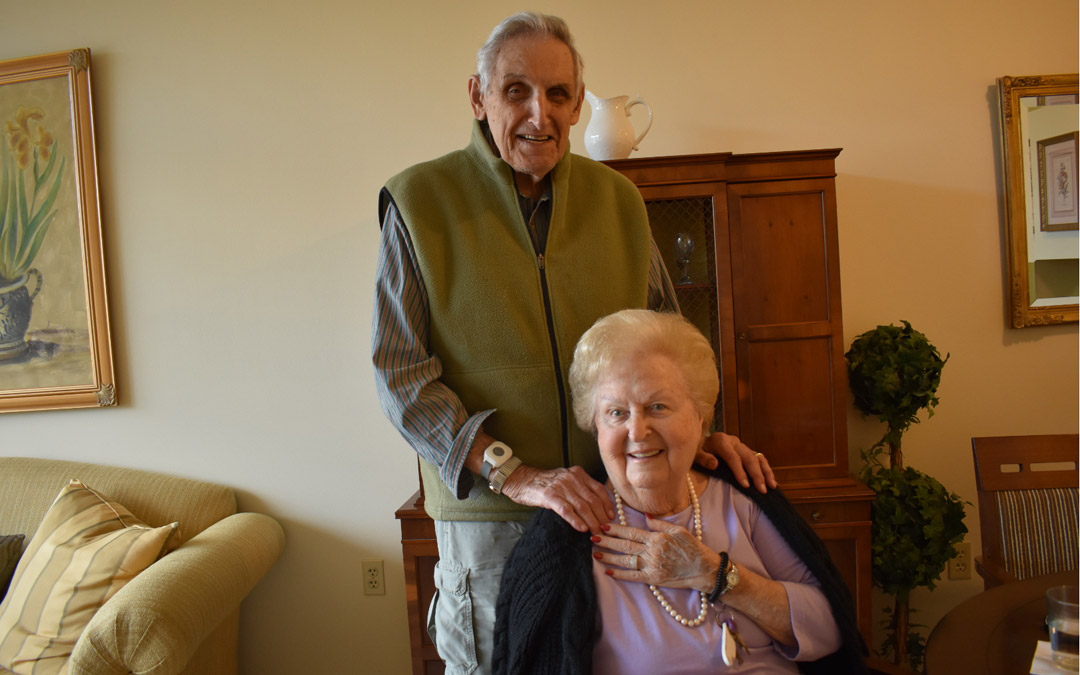 North Oaks Couple Finds Laughter and Love After 90