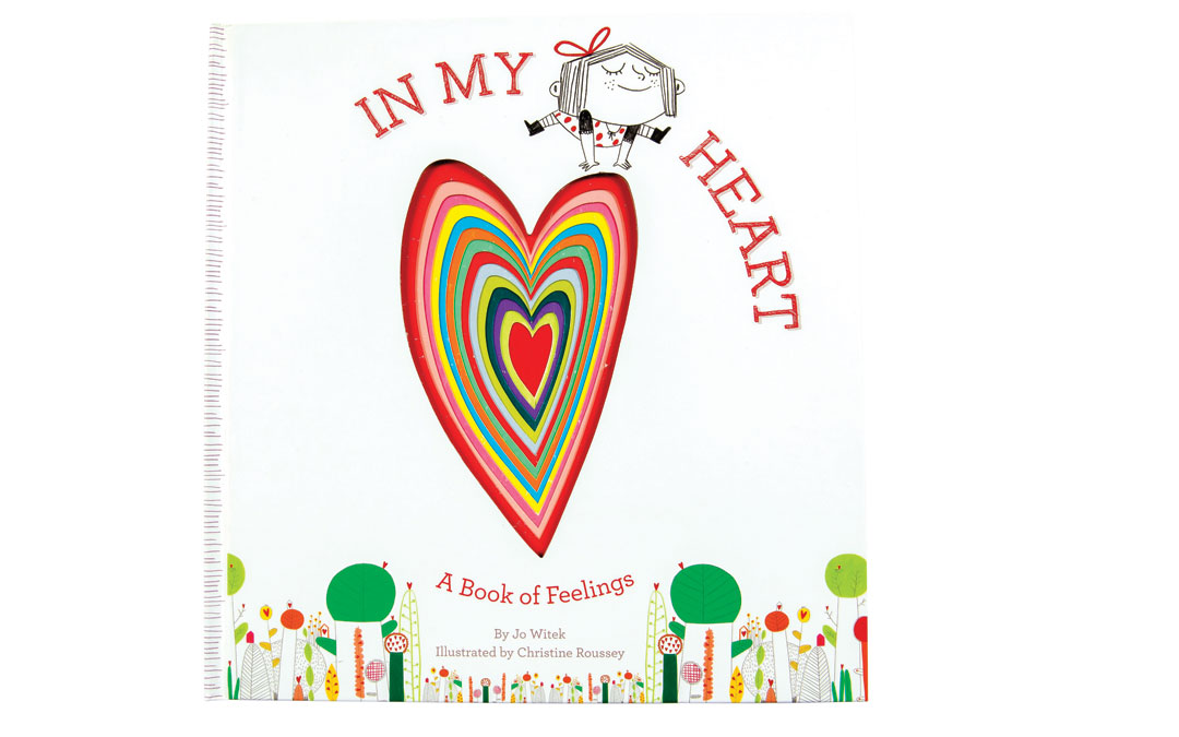 """There's no better way to teach your child about love than from this book. """"In My Heart: A Book of Feelings,"""" from Wee Chic; Abrams Appleseed, $16.95."""