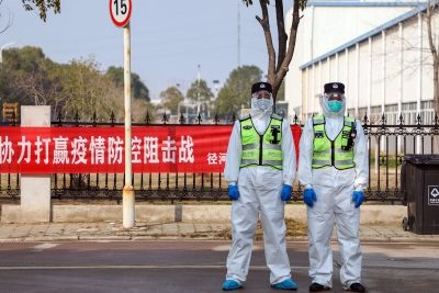 Israeli Dad Writes about Life in Quarantined Chinese City