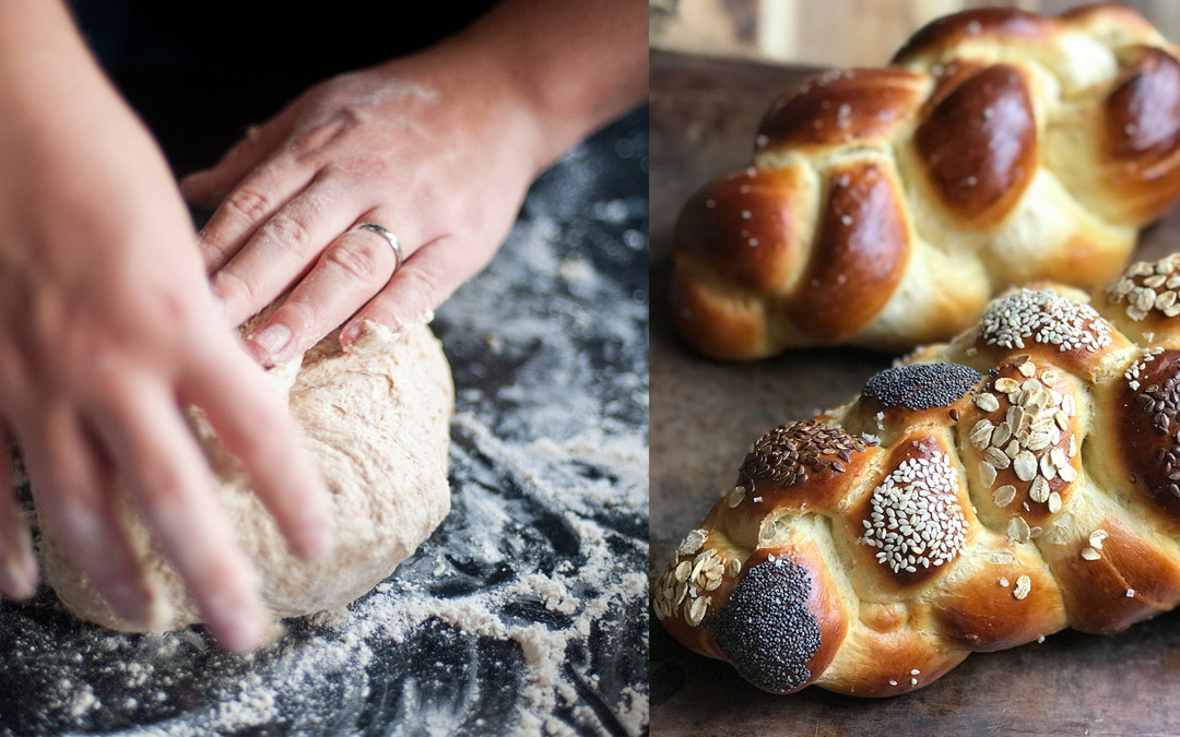 Staying Sane by Kneading (and Needing) Challah