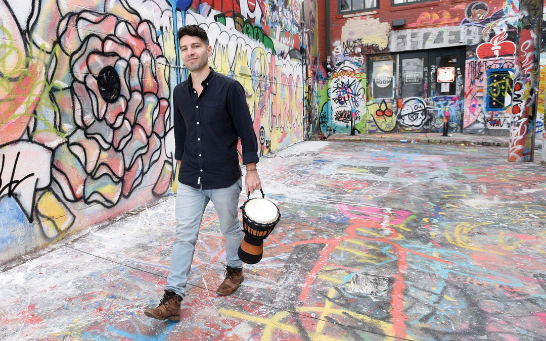 Quick 5: Jordan Goodman, The Drum Whisperer