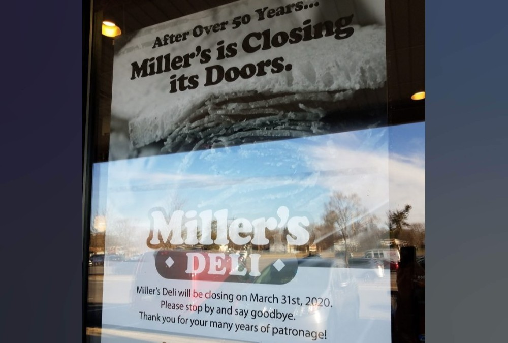 Miller's Deli to Close After More than 50 Years in Business