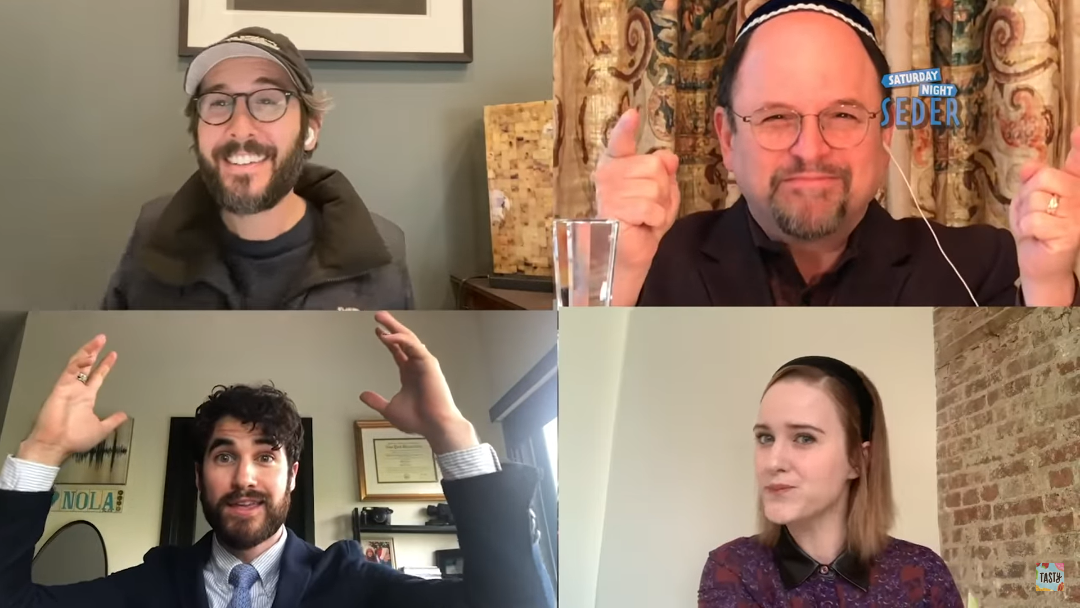 Celebrity-Studded Seder Offered a New Look at American Jewry Today
