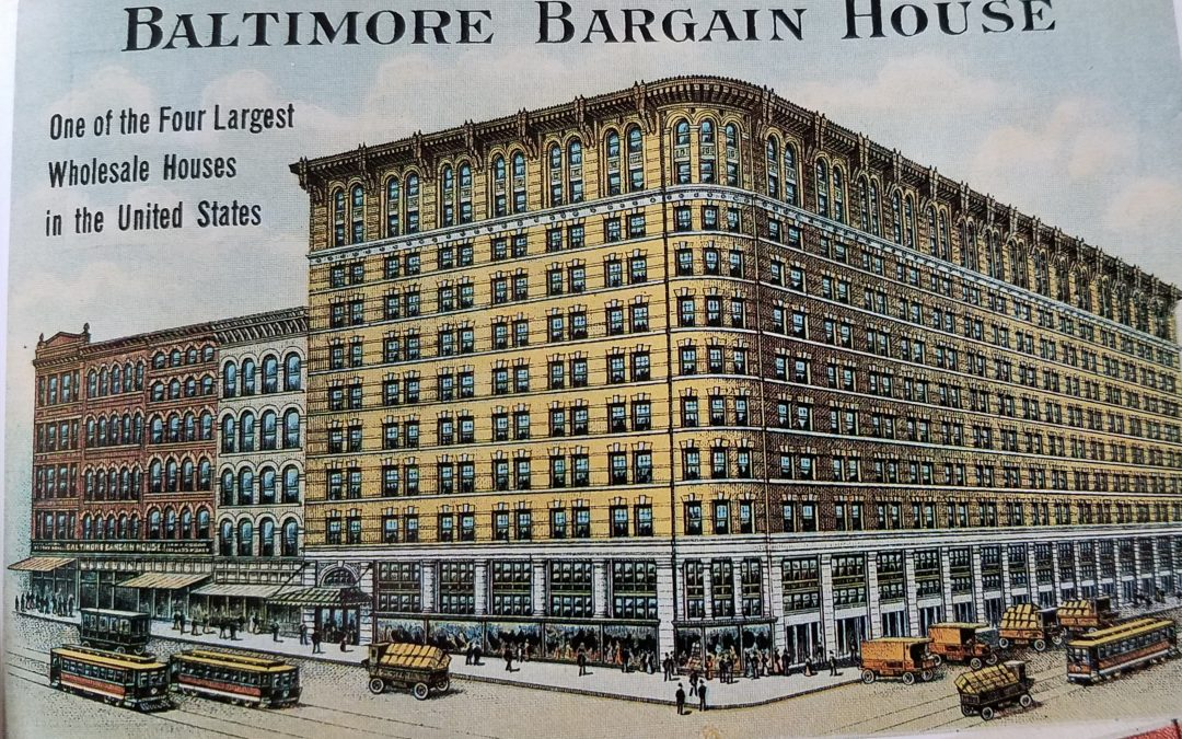 Baltimore Bargain House Served as Major Commerce Hub for Decades